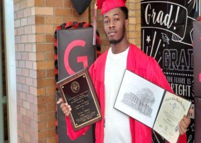 graduation photo of Desire Chiruza