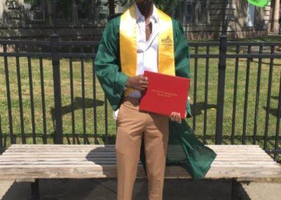 graduation photo of Merci Ndagijimana