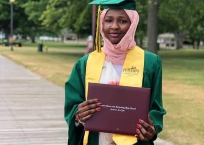 graduation photo of Moada Kaky