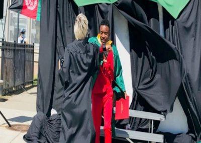 graduation photo of Mpenzi Yohana