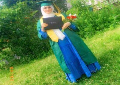 graduation photo of Rawan Khunaifes