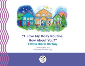 cover image of flyer, I Love My Daily Routine, How About You?  publication